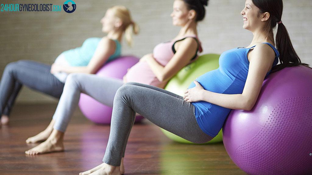 ورزش های موثر دوران بارداری